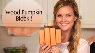 Diy Darling Wood Pumpkin!!