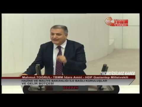 Hdp Gaziantep Milletvekili Mahmut Togrul Meclis Konusmasi Tbmm Idare Amiri 18 Aralik 2018