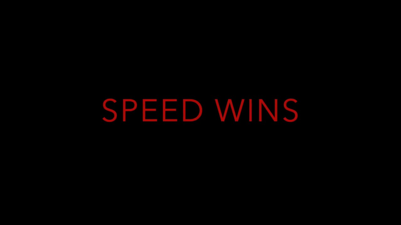 Speed Wins Promo Video