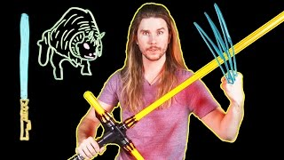 Could a Lightsaber Cut Through Wolverine's Adamantium Claws? (Because Science w/ Kyle Hill)