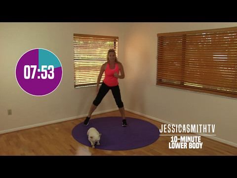 10 Minute Lower Body Workout - At Home Strength Training No Equipment, Fat Burning, Sculpting