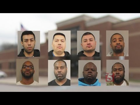 9 In Jail After Massive Drug Bust - YouTube