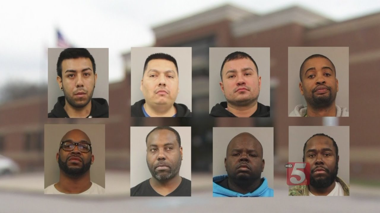 9 In Jail After Massive Drug Bust