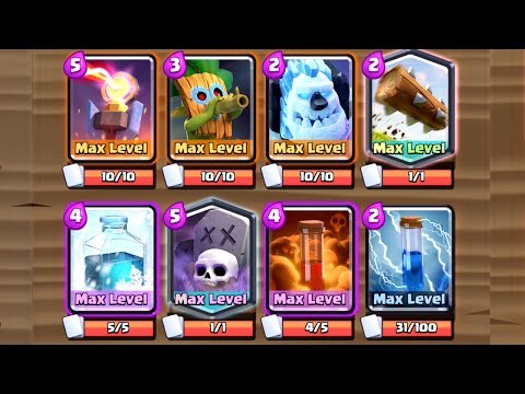 Clash Royale - CRAZIEST UNDEFEATED DECK!