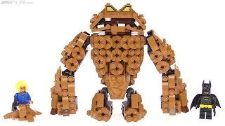 LEGO Batman Movie Clayface Splat Attack review! 70904