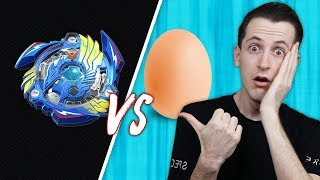 בייבלייד רצחני נגד ביצה (לא ציפיתי לזה!!)