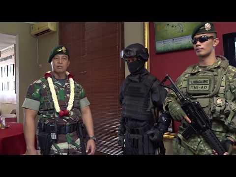 Pangkostrad Letjen TNI Andika Perkasa mengunjungi Markas  Brigif PR 17