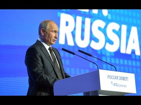 Vladimir Putin. Russia Calling! Investment Forum (Eng Sub)