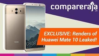 EXCLUSIVE LEAK: 360-Degree Renders of Huawei Mate 10