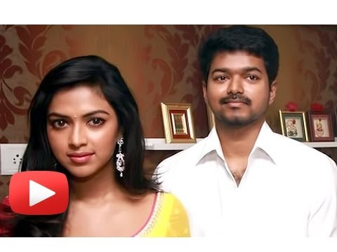 Sexy Amala Paul Romances Tamil Superstar Vijay [HD] Travel Video