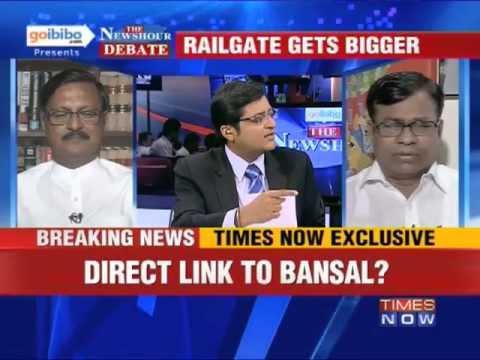 The Newshour Debate: Is it time for Pawan Kumar Bansal to resign? (Part 1 of 3)