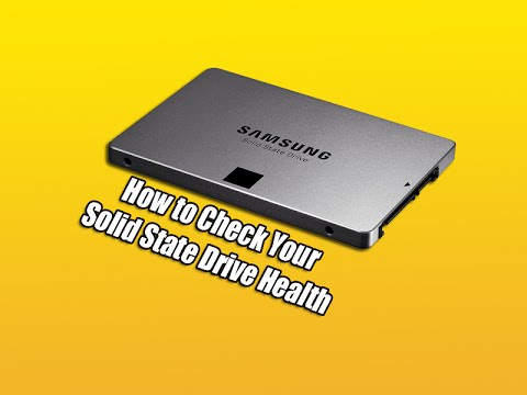 How to Check Your Solid State Drive Health