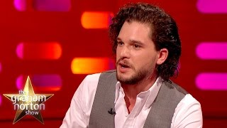 Kit Harington Caught Off Guard In London - The Graham Norton Show thumbnail