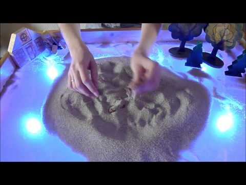 Арт студия для детей  Идеи для занятий с песком