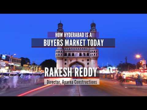 How Hyderabad is a buyers' market today? | Webinar, Rakesh Reddy, Magicbricks