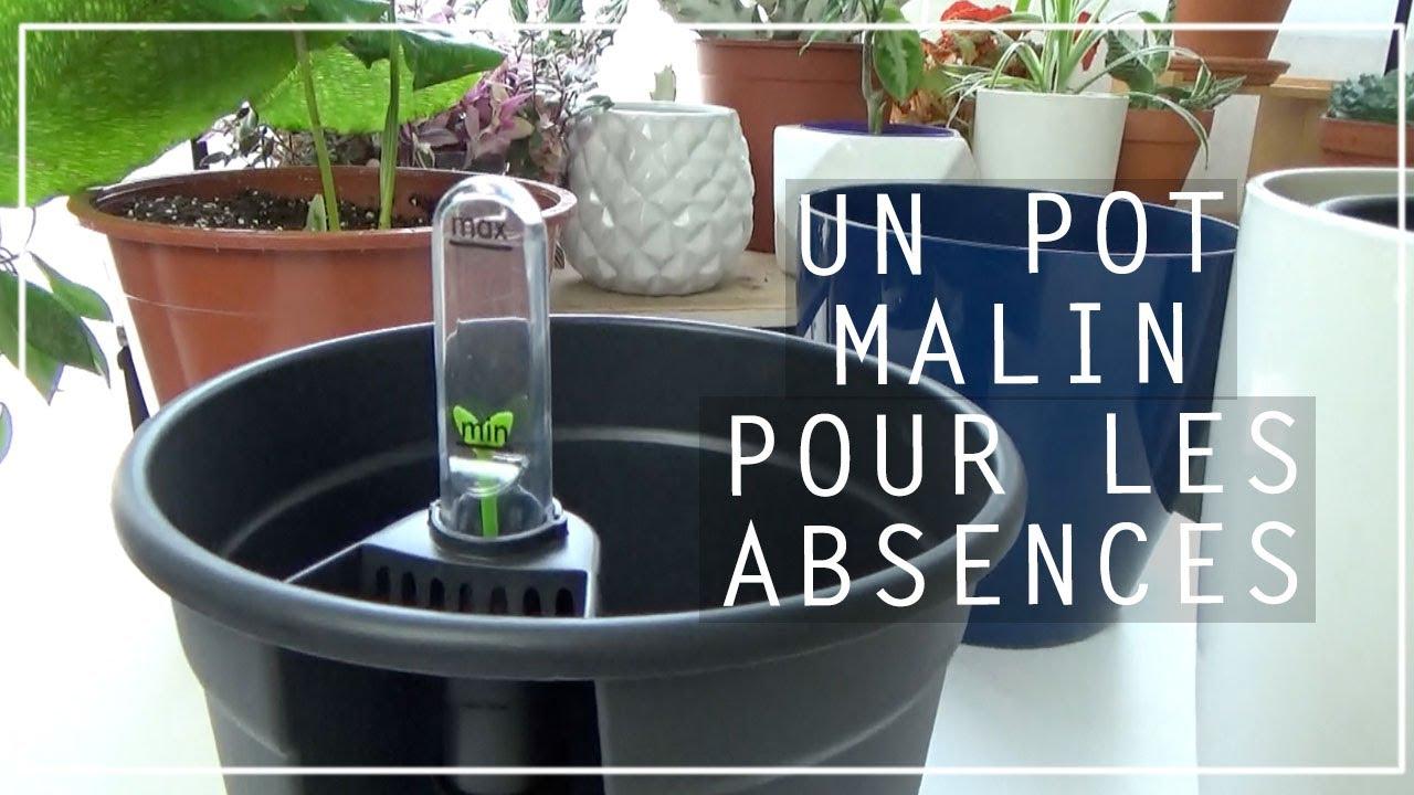 Arrosage Pour Plantes En Pot 💦 arrosage de vacances #3 : le pot qui fait rÉserve d'eau ! self-watering  insert par elho