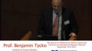 "Professor Benjamin Tycko ""Epigenetics and DNA methylation in Down syndrome"" Thumbnail"