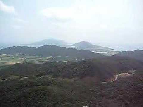 野底マーペの山頂からの景色