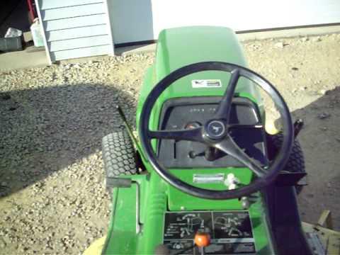 John Deere 212 Tractor With Hydraulic Lift YouTube – John Deere 212 Electric Lift Wiring Diagram