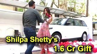 shilpa shetty39s amazing marriage anniversary gift from husband raj kundra  range rover worth 16 cr