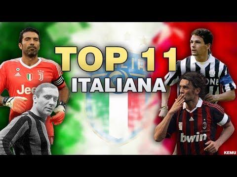 La Migliore Formazione Italiana di Sempre