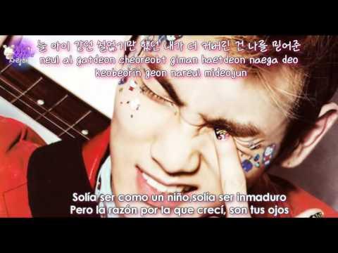SHINee - Green Rain (초록비) [Sub Español + Hangul + Rom] The Queen's Classroom OST
