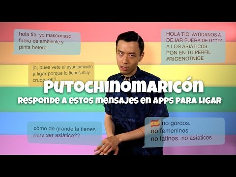 Putochinomaricón Responde A Estos Mensajes De Apps Para Ligar