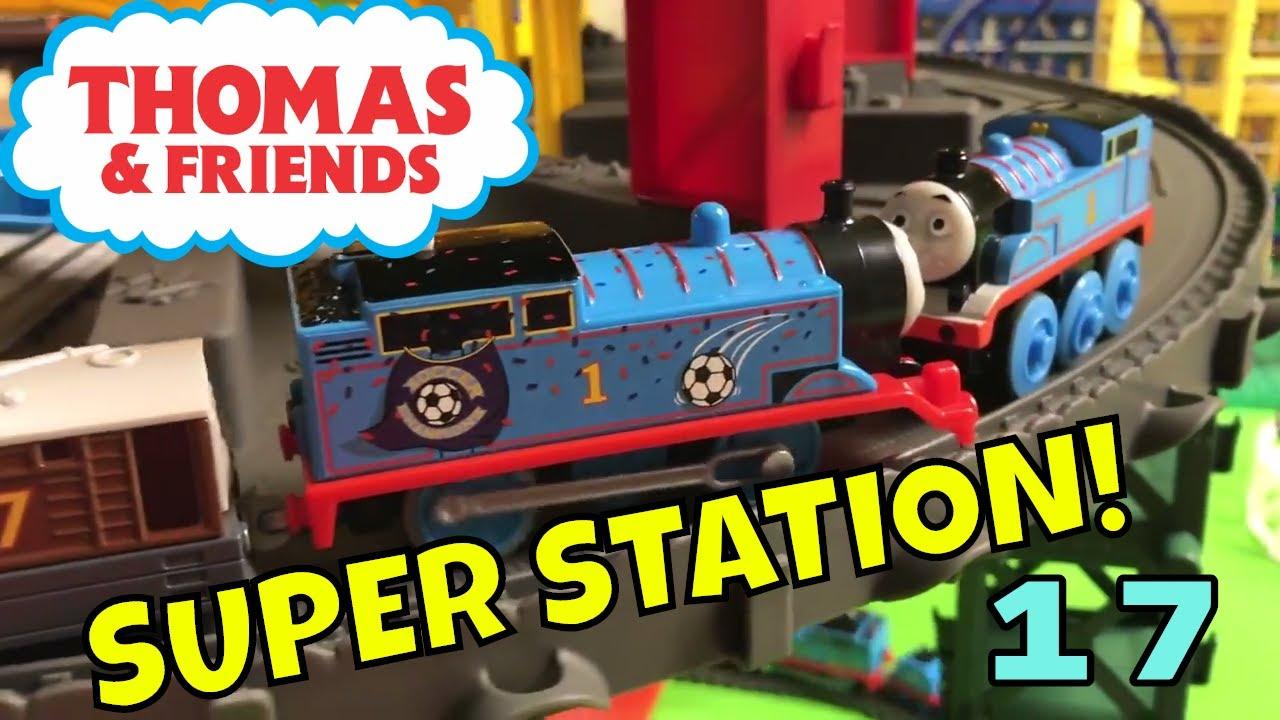 Thomas Super Station Thomas Minis Adventures Track Master Wooden Railway In 1 Train Set Youtube
