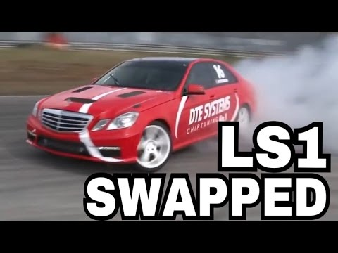 LS1 Swapped E350 DRIFTING
