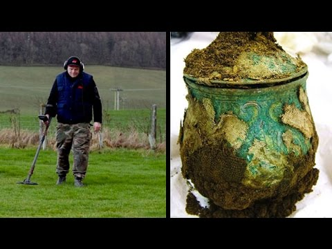 Amateur treasure hunter uncovers £1m Viking hoard