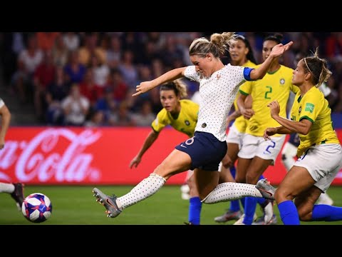 France through to quarter-finals of Women's Football World Cup after beating Brazil