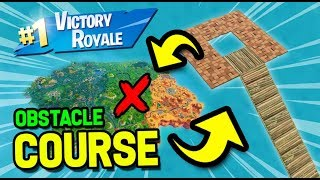 BEST OBSTACLE COURSE EVER IN FORTNITE  BATTLE ROYALE