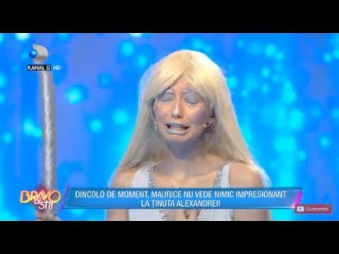 Bravo, ai stil!(19.01.)-Tinuta Alexandrei, comparata cu un mop! Catalin o ajuta sa isi faca anuntul!