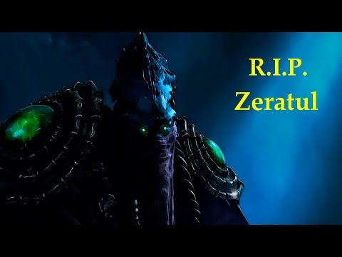Zeratul Dies by the hand of... - Starcraft 2 Legacy of the Void