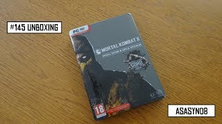 #145 Unboxing: Mortal Kombat X - Special Edition [PL]