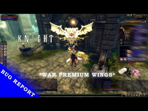 [Knight Online] War premium wings bug