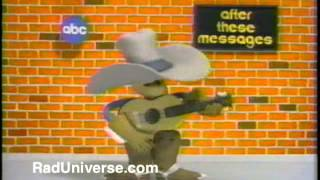 "ABC ""After These Messages We'll Be Right Back"" Cowboy - 1988 Bumper"