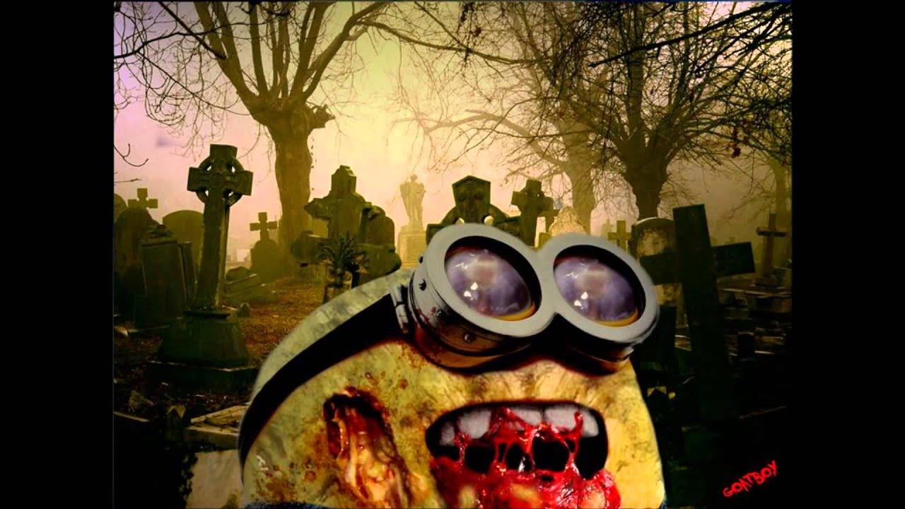 Wallpaper Keren Minions Zombie