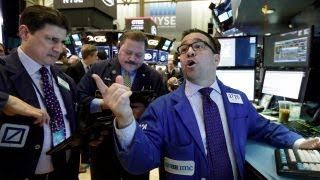 Markets focusing on the accelerating US economy?