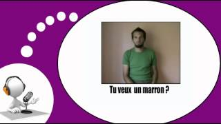 Французского видео урок = Жесты и выражения, № 3