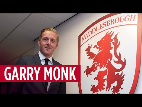 Garry Monk's first interview as Boro manager