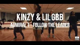 Cours Dancehall - Kinzy & Lil Gbb - Studio MRG - Admiral T Follow the leader