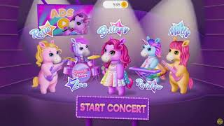 Pony Sisters Pop Music Band - Play, Sing & Design - Makeover & Music Games For Kids B  | Aca Gaming