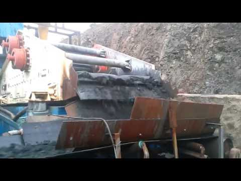 Dewatering Screen for Chrome diamond mining plant