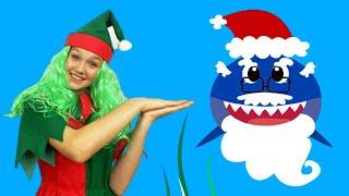 Canción Bebé Tiburón Navidad   Canciones Infantiles con Alex y Nastya