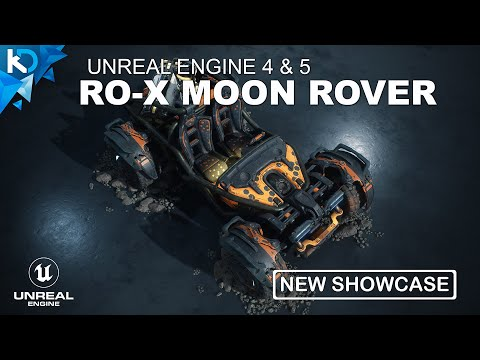 R0-X Moon Rover - Unreal Engine 4