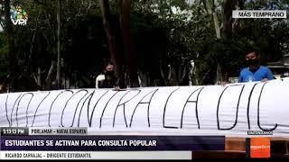 Movimiento estudiantil respalda la Consulta Popular - Nueva Esparta - VPItv