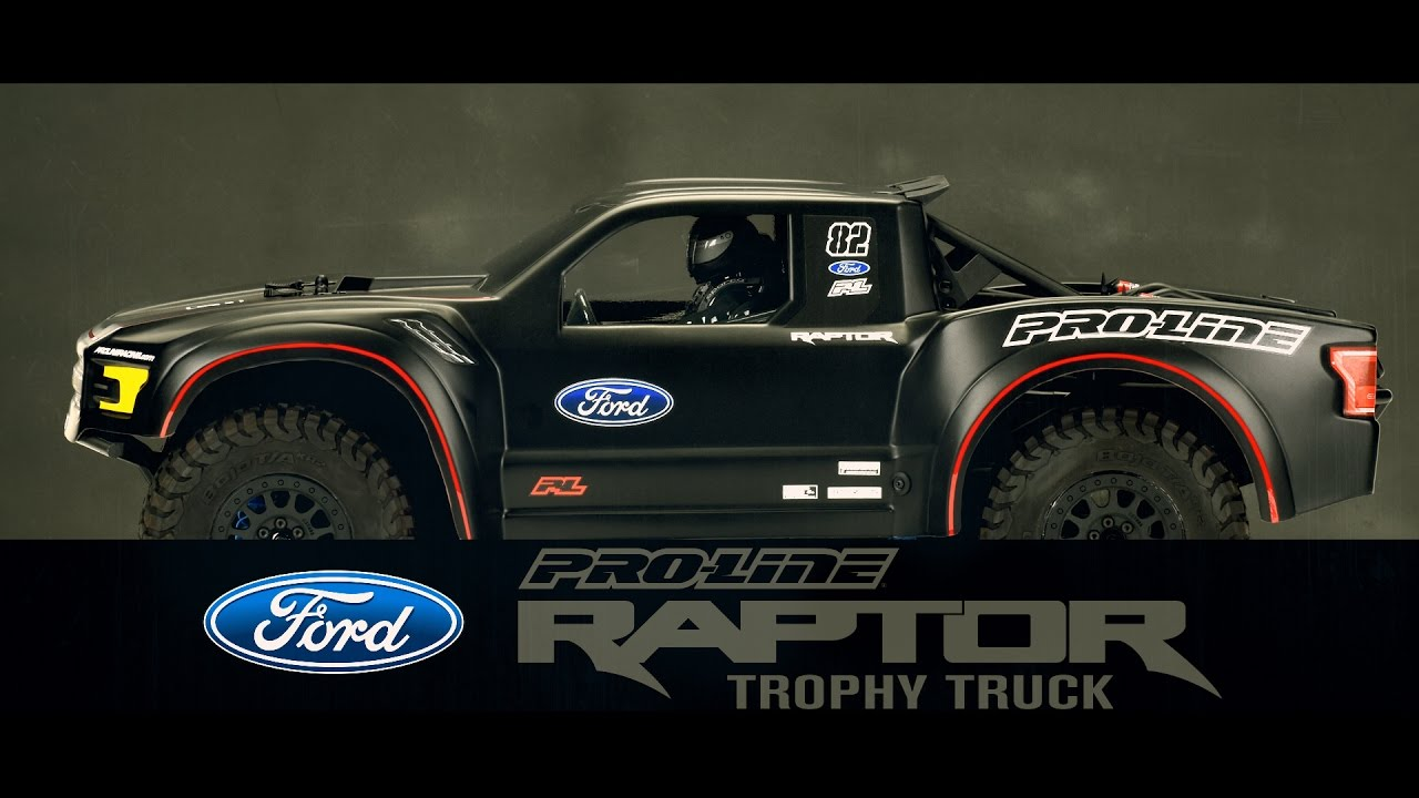 Pro-Line 2017 Ford F-150 Raptor Trophy Truck Clear Body