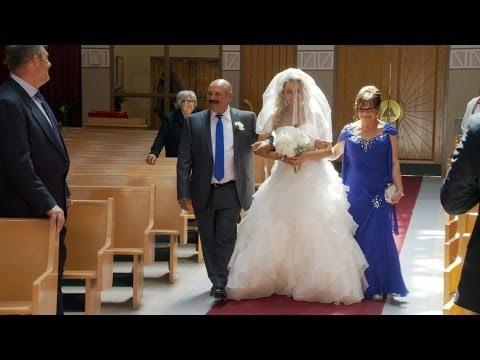 Walk Down The Aisle - A Wedding Ceremony Video at St Davids Parish Toronto