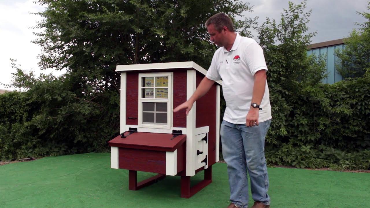 small overez chicken coop youtube